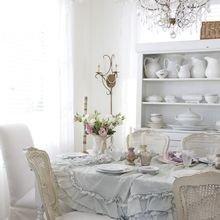 Фотография: Гостиная в стиле Кантри, Кухня и столовая, Интерьер комнат, Шебби-шик – фото на InMyRoom.ru