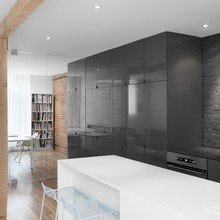 Фото из портфолио  Современные апартаменты в Монреале – фотографии дизайна интерьеров на INMYROOM