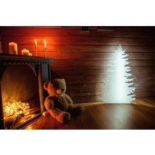 LED елка SNOWFLAKE M,L