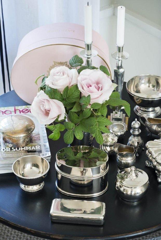 Фотография: Флористика в стиле , Классический, Скандинавский, Декор интерьера, Квартира, Черный, Бежевый, Серый, Розовый, бледно-розовый цвет в интерьере, модная палитра в интерьере – фото на InMyRoom.ru