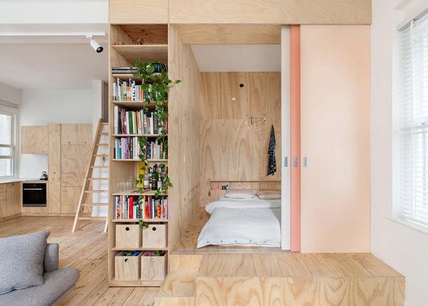 Фотография: Спальня в стиле Эко, Советы, квартира в Мельбурне – фото на InMyRoom.ru