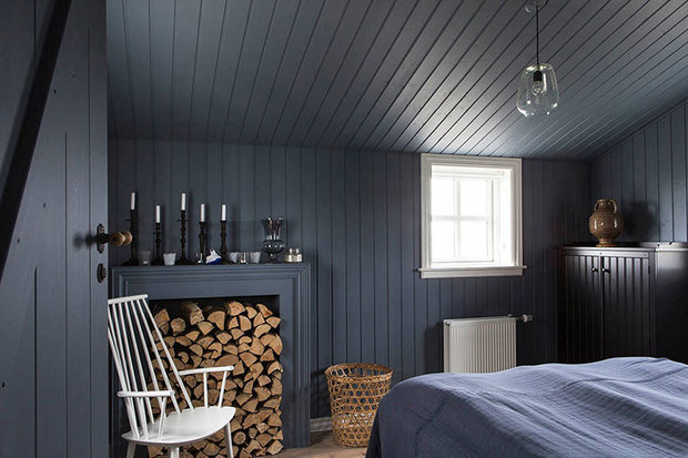 Фотография: Спальня в стиле Скандинавский, Дом, Дача, Дом и дача – фото на InMyRoom.ru