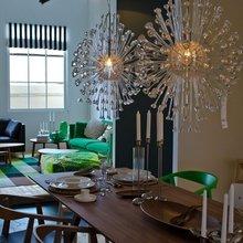 Фотография: Кухня и столовая в стиле Современный, Эклектика, Декор интерьера, Декор дома, Цвет в интерьере, IKEA, Зеленый, Желтый – фото на InMyRoom.ru
