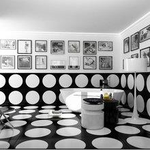 Фотография: Ванная в стиле Современный, Дизайн интерьера, Цвет в интерьере – фото на InMyRoom.ru