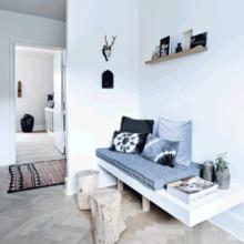 Фото из портфолио ИНТЕРЬЕР, вдохновленный скандинавской природой – фотографии дизайна интерьеров на INMYROOM