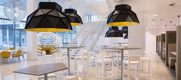 Фотография:  в стиле Хай-тек, Офисное пространство, Офис, Дома и квартиры, Проект недели – фото на InMyRoom.ru