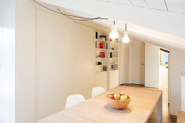 Фото из портфолио Проект обустройства пространства на чердаке в Италии – фотографии дизайна интерьеров на INMYROOM