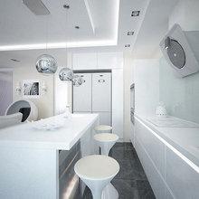 Фотография: Кухня и столовая в стиле Скандинавский, Хай-тек – фото на InMyRoom.ru
