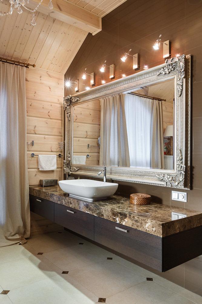 Фотография: Ванная в стиле Прованс и Кантри, Дом, Дома и квартиры, IKEA, Проект недели – фото на InMyRoom.ru