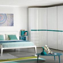 Фото из портфолио Распашной шкаф совмещённый со шкафом-купе – фотографии дизайна интерьеров на INMYROOM