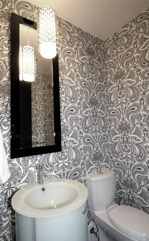 Фотография: Ванная в стиле Современный, Декор интерьера, Декор дома, Ковер – фото на InMyRoom.ru
