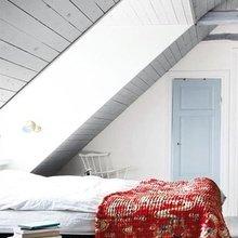 Фотография: Спальня в стиле Кантри, Скандинавский, Современный, Чердак, Мансарда – фото на InMyRoom.ru