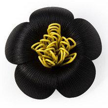 Магнит для скрепок blossom черный
