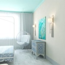 Фотография: Спальня в стиле Эклектика, Квартира, Дома и квартиры, Надя Зотова – фото на InMyRoom.ru
