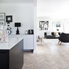 Фото из портфолио Черно-белый тренд – вне времени!!! – фотографии дизайна интерьеров на INMYROOM