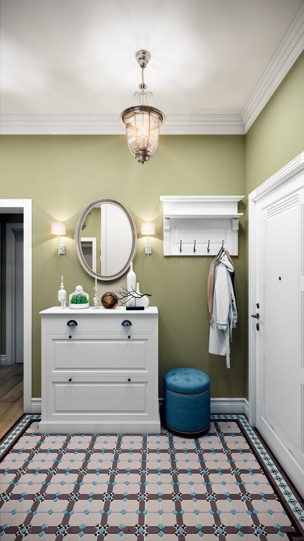 Фотография: Прихожая в стиле Современный, Цвет в интерьере, Краски, Интервью, цветовая гамма интерьера, Как выбрать цвет краски для стен, Little Greenе, Дэвид Моттерсхед – фото на INMYROOM