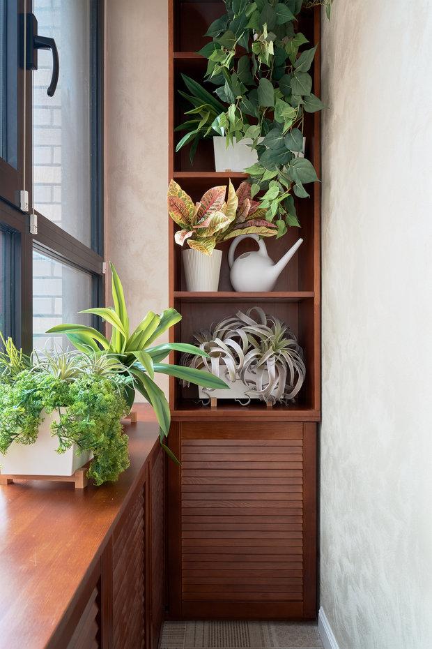 Фотография: Балкон в стиле Современный, Малогабаритная квартира, Квартира, Студия, Проект недели, Москва, 1 комната, до 40 метров, Евгения Ивлиева – фото на INMYROOM