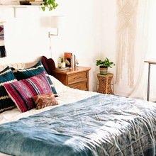 Фото из портфолио Бохо шик (богемный стиль) в интерьере спальни – фотографии дизайна интерьеров на INMYROOM