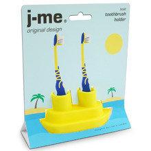 Держатель для зубной щетки J-me boat желтый