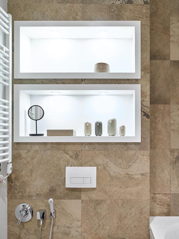 Фотография: Ванная в стиле Современный, Кухня и столовая, Спальня, Декор интерьера, Студия, Антонина Синчугова – фото на INMYROOM
