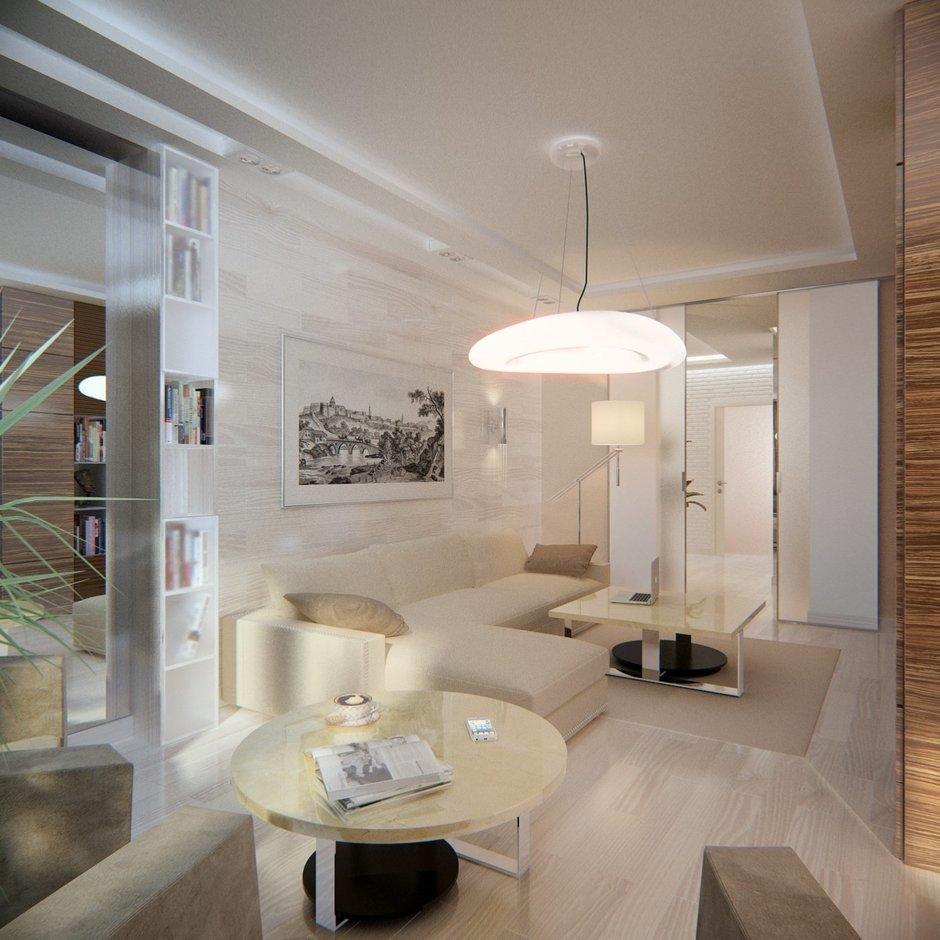 Фотография: Гостиная в стиле Современный, Эко, Квартира, Проект недели – фото на InMyRoom.ru