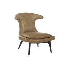Кресло оригинальное бежевого цвета