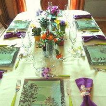 Фотография: Кухня и столовая в стиле Кантри, Декор интерьера, Дом, Декор дома, Сервировка стола – фото на InMyRoom.ru