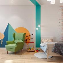 Фотография: Детская в стиле Современный, Квартира, Проект недели, Co:Interior, сталинка – фото на InMyRoom.ru