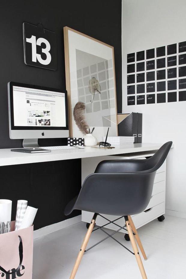 Фотография: Офис в стиле Скандинавский, Декор интерьера, Мебель и свет – фото на InMyRoom.ru