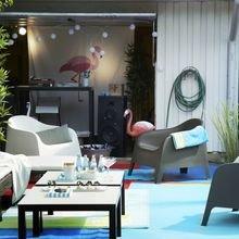 Фотография: Гостиная в стиле Современный, Карта покупок, Индустрия, IKEA, Дача, Стулья, Табурет – фото на InMyRoom.ru