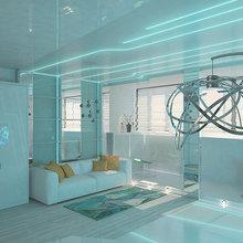 """Фото из портфолио """"Клубная квартира"""" – фотографии дизайна интерьеров на InMyRoom.ru"""