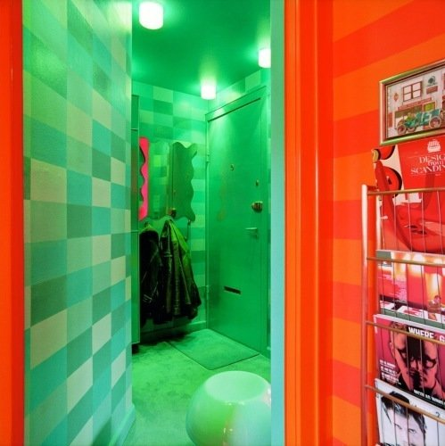 Фотография: Прихожая в стиле Лофт, Интерьер комнат, Ковер – фото на INMYROOM