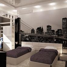 Фотография: Спальня в стиле Современный, Хай-тек – фото на InMyRoom.ru