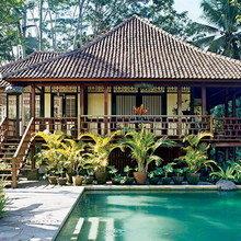 Фотография: Терраса в стиле Восточный, Эко, Дома и квартиры, Городские места, Бали – фото на InMyRoom.ru
