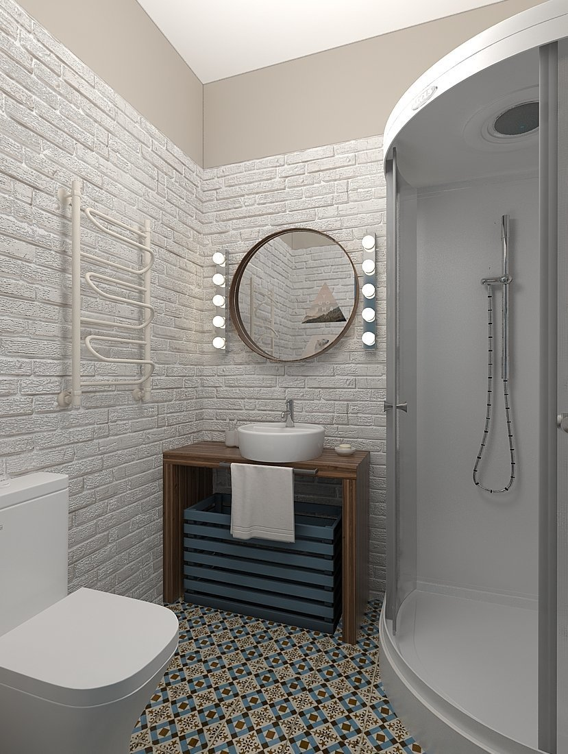 Фотография: Ванная в стиле Скандинавский, Квартира, Проект недели, Zi-Design Interiors – фото на InMyRoom.ru