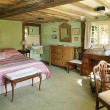 Фотография: Спальня в стиле Кантри, Дома и квартиры, Интерьеры звезд – фото на InMyRoom.ru