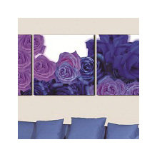Декоративная картина: Синие розы