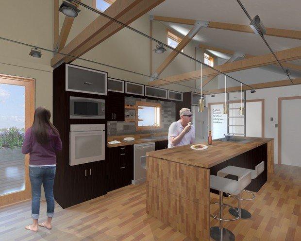 Фотография: Кухня и столовая в стиле Современный, Дом, Дома и квартиры, Архитектурные объекты – фото на InMyRoom.ru