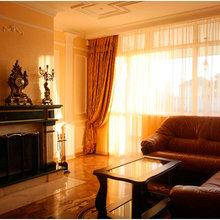 Фотография: Гостиная в стиле Классический, Современный, Дизайн интерьера – фото на InMyRoom.ru