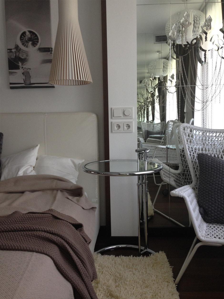 Фотография: Спальня в стиле Скандинавский, Современный, Квартира, Дома и квартиры, Проект недели – фото на InMyRoom.ru