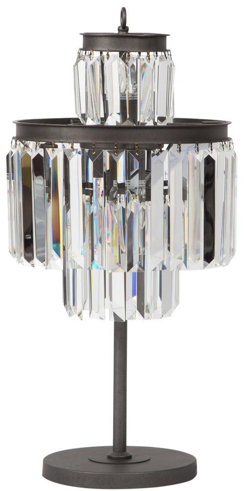Купить Дизайнерская настольная лампа из металла и стекла, inmyroom
