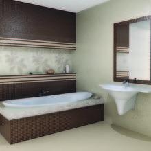 Фотография: Ванная в стиле Современный, Кухня и столовая, Интерьер комнат, Бассейн, Кухонный фартук – фото на InMyRoom.ru