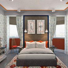 Фотография: Спальня в стиле Современный, Эклектика, Классический, Квартира, Проект недели – фото на InMyRoom.ru