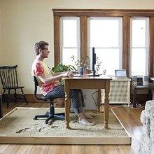 Фотография: Офис в стиле Современный, Малогабаритная квартира, Квартира, Индустрия, События – фото на InMyRoom.ru