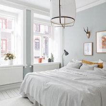 Фотография: Спальня в стиле Скандинавский, Декор интерьера, Квартира, Швеция, Советы – фото на InMyRoom.ru