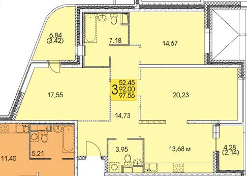 Ищем дизайнера для проекта 3-х комнатной квартиры