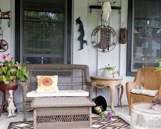 Фотография: Балкон, Терраса в стиле Прованс и Кантри, Декор интерьера, Дом, Декор дома – фото на InMyRoom.ru