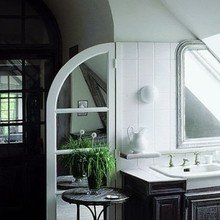 Фотография: Ванная в стиле Кантри, Дом, Дома и квартиры, Прованс – фото на InMyRoom.ru