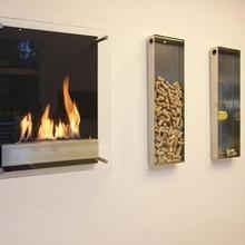 Фото из портфолио Настенные биокамины – фотографии дизайна интерьеров на INMYROOM