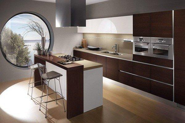 Фотография: Кухня и столовая в стиле Современный, Эко, Малогабаритная квартира, Квартира, Дома и квартиры – фото на InMyRoom.ru